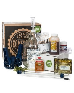 Small Batch Homebrew Starter Kit with American Brown Ale Recipe Kit