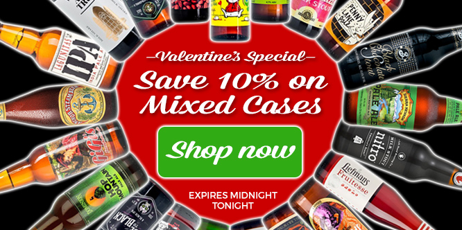 Valentine's 10% off Mixed Cases