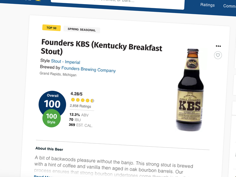 What is RateBeer and why should you care?
