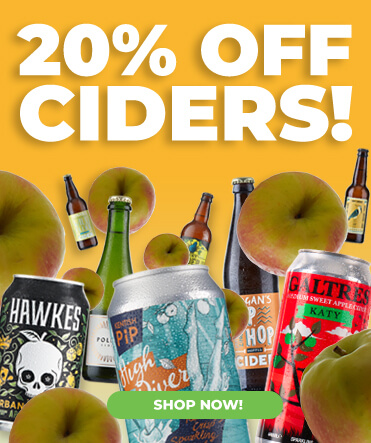 20% off all our Craft Cider